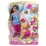 Barbie Nikki Con Perro Come Y Hace Caca Playset