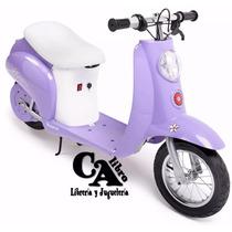 Moto Scooter A Bateria 12v Razor - Eléctrico -vintage- Nena