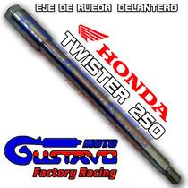 Eje Rueda Delantero Honda Twister 250 Original Motogustavo