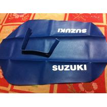 Suzuki Dr 350 Dr350 Tapizado Replica Original Azul
