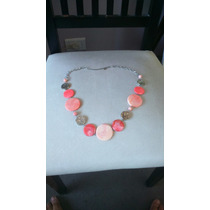 Collar Isadora Coral - Oferta Imperdible