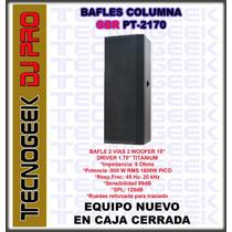 Bafle Columna Pt2170 Gbr 1600w Driver 1.75 Linea Profesional