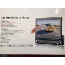 Equipo Multimedia Pantalla Motorizada Usb Dvd Control Remoto