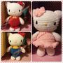 Kitty Crochet Amigurumi Tejido A Mano Lino Creaciones