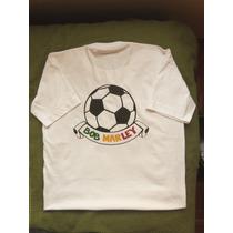 Buzos Y Remeras Estampadas Bob Marley Con Pelota De Futbol!