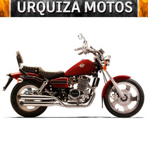 Moto Mondial Hd 250 Hd250 Custom Chopper 0km Urquiza Motos