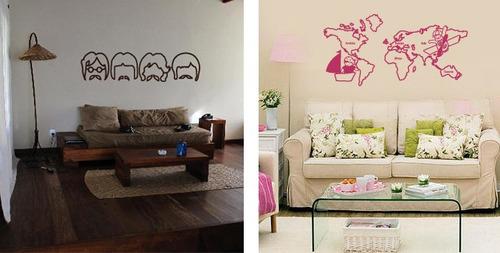 Vinilos decorativos para paredes frases vinilos for Precio de vinilos para pared