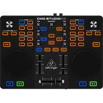 Behringer Dj Cmd Studio 2a Consola Controlador Dj 4 Canales