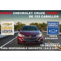 Nuevo Chevrolet Cruze 2 Venta Excl Resp Inscripto Sa Srl Dde
