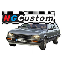 Spoiler Peugeot 505 Gamma 86-92 Delantero