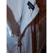 Vestido Blanco Las Oreiro Ideal Novias! Boda Civil Sale!!