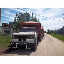 Camion C/acoplado Listo Para Trabajar
