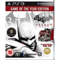 Juego Ps3 Batman Arkham City Fisico Impecable Como Nuevo!