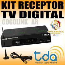 Oferta Decodificador Tda + Ant Interior Graba Y Reproduce