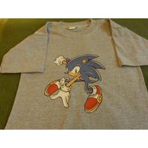 Buzos Y Remeras Estampadas Sonic Día Del Niño !!