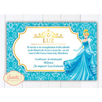 Kit Imprimible Cenicienta - Candy Bar - Princesa Disney