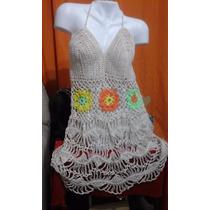 Vestidos, Salidas De Playa, Sacos En Horquilla Y Crochet