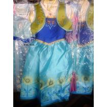 Disfraz Nena De Frozen Anna Fiebre Congelada Imp. Urquiza