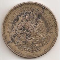 Mexico, 5 Pesos, 1948. Plata. Azteca, Cuauhtemoc. Xf+