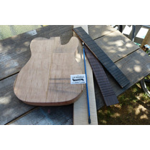 Maderas Luthier Kit Combo Telecaster Y Stratocaster Cortado