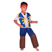 Disfraz Pirata Jake !solo Talle 0 - Jugueteria Minijuegos!
