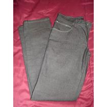 Pantalon Phillgreen Streech Jean Elastizado Negro Hombre