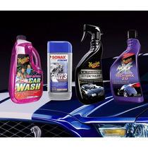 Kit De Tratamiento Acrilico Sonax,meguiars,shampoo,cera
