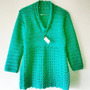 Tejidos Artesanales A Crochet: Sweater Corte Princesa