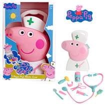 Valija Maletin Peppa Pig Set Doctora Con Accesorio Tapimovil
