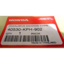 Cadena Transmision Honda Wave110 Orig Mejor $ Centro Motos