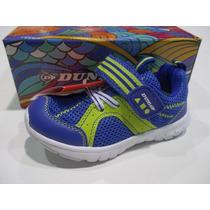 Zapatillas Bebe Niño Dunlop Running Visp Original De Fabrica
