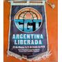 Banderin Cgt Argentina Liberada 1973