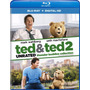 Blu-ray Ted 1 & 2 / Unrated Edition / Incluye 2 Films