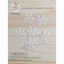 Copos De Nieve En Papel Comestible Mi 4010