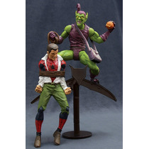 Marvel Green Goblin + Spider Man Diamond Select Hombre Araña