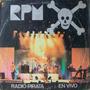 Rpm - Radio Pirata En Vivo Disco Vinilo Lp