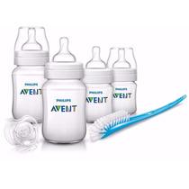 Avent Set Para Recien Nacidos Mamadera Clásica Bb Feliz