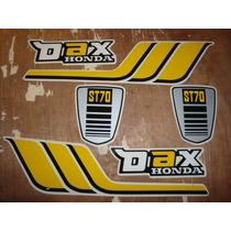 Honda Dax 1980 Calcos De Linea