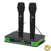 Dos Microfonos Inalambricos De Recargable Bluetooh Vhf K33