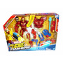 Marvel Super Hero Mashers Iron Man Con Repulsor Luminoso!
