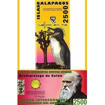 Islas Galápagos Billete De 2500 Sucres Año 2009 Sin Circular