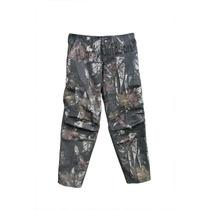 Pantalon De Caza, Camuflado 3d. Tela Antidesgarro -rip-stop