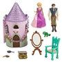 Mini Castillo Rapunzel. Original Disney Store Con Accesorios
