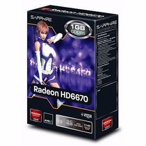 Placa De Video Radeon Hd 6670 1gb Ddr5