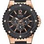 Reloj Guess Hombre W12653g1 Rosé Caucho 100m Agente Oficial