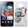 Funda Samsung Galaxy S2 I9100 Rigida Smurf Pitufina