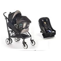 Coche Con Huevito Brisk + Base P/auto Joie Infanti Aluminio