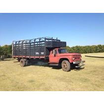Camion Ford 600 Mod 61 Carga 13 Caballos Hacienda