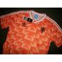 Camiseta Holanda Retro Mundial Italia 1990 Unica!!!