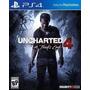 Uncharted 4 A Thiefs End Ps4 Digital Jugas Contu Usuario